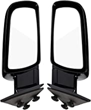 Pair Exterior Mirrors Side View Towing Mirrors Compatible with 1992-1994 Chevy Blazer & 1988-2001 Chevy Truck/GMC Truck, for 1992-1999 Chevy Suburban/ GMC Suburban &1995-1999 Chevy Tahoe/ GMC Yukon