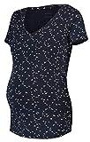 Noppies Nursing Schlafanzug Anika Sleep Shirt Pyjama Nachtwäsche Still- Umstandsschlafanzug 90N0015 M