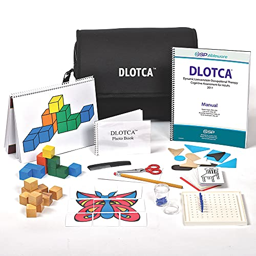 SP Ableware DLOTCA Battery – Standardized Cognitive Function Assessment Tool for Occupational Therapists (718262000)