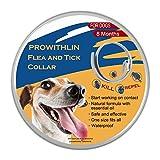 prowithlin Collar Antipulgas Ajustable para Perros Pequeños, Medianos...