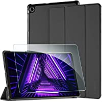 EasyAcc Funda para Lenovo Tab M10 FHD Plus (2nd Gen) 10.3 pulgadas – Ultra fina Case con función atril Slim Funda de piel perfecta para Lenovo Tab M10 FHD Plus 26,2 cm Tablet (Negro)