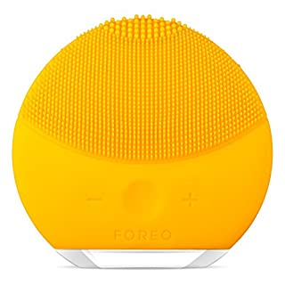 FOREO LUNA mini 2 Facial Cleansing Brush made with Soft Silicone for Every Skin Type(USB Rechargeable), Sunflower Yellow, 1 count (B018T7DI0Y) | Amazon price tracker / tracking, Amazon price history charts, Amazon price watches, Amazon price drop alerts