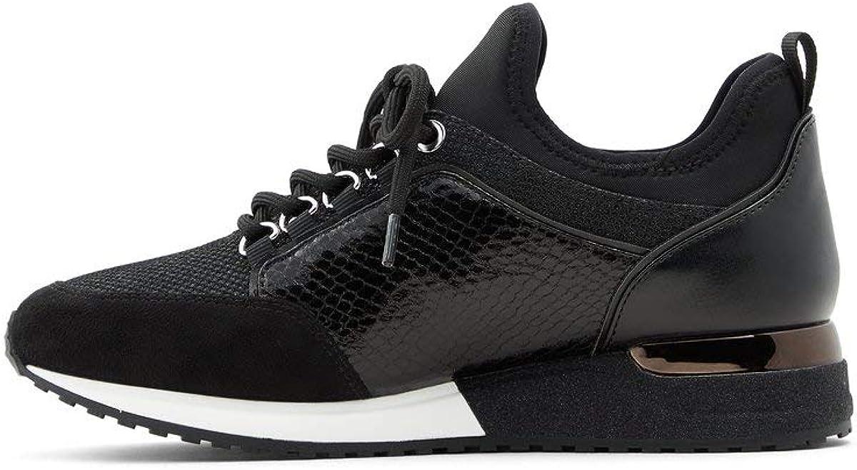 ALDO Women's Courtwood Superlatite Bargain sale Fashion Lace-Up Sneaker