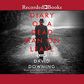 Diary of a Dead Man on Leave audiobook cover art