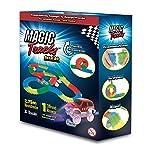 Magic Tracks Set | Autorennbahn für Kinder ab 3 Jahren | Autobahn Kinder | Autorennbahn Leuchtend (Kleines Set)