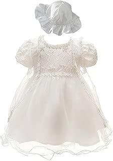 ZAH Baby Girl Dress Christening Baptism Gowns Sequined Formal Dress
