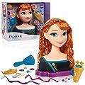 Disney Frozen 2 Queen Anna Deluxe Styling Head, 18-Pieces