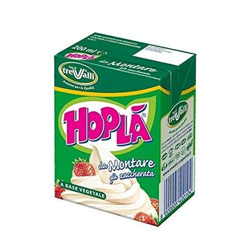 24x Hoplà Panna da montare glutenfrei Schlagsahne Sahne zum Nachtisch 200ml