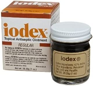 Iodex, 1-Ounce Jar - Pack of Two