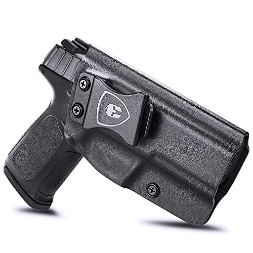 S&W SD9 VE & SD40 VE Holster, IWB KYDEX Holster Fit: S&W SD9 VE & SD40 VE Pistol, Inside Waistband Holster Concealed Carry for Men / Women, Adjustable Cant & Retention, Right Hand Draw