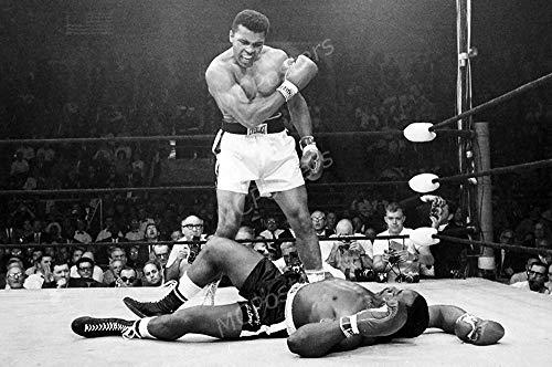 MCPosters - Muhammad Ali Vs Sonny Liston Glossy Finish Movie Poster - MCP877 (24