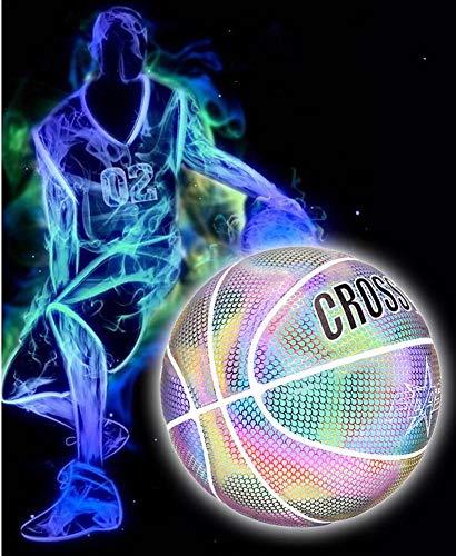 Baloncesto luminoso, juego baloncesto reflectante