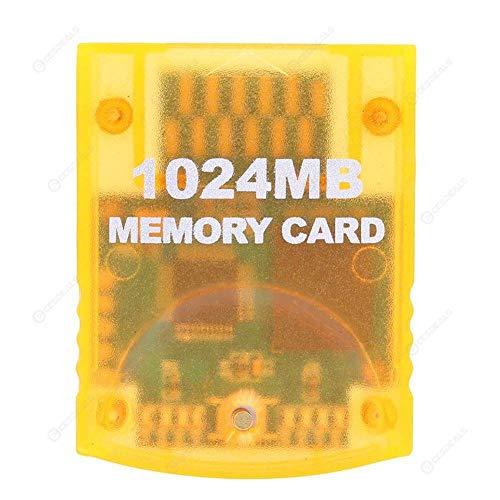 Link-e - Carte mémoire grande capacité 1024mb (8x2043 Blocks) compatible avec les consoles Nintendo Wii et Gamecube