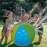 LUHUANONG 75 cm Agua Spray Ball Verano Agua al Aire Libre Polo Polo Water Spray Bola Bola Play Play Toy Ball Inflable