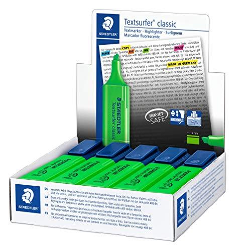 Staedtler Textsurfer Classic Highlighter Inkjet-safe Line Width 2.5-4.7mm Blue Ref 3646 [Pack of 10] Photo #4