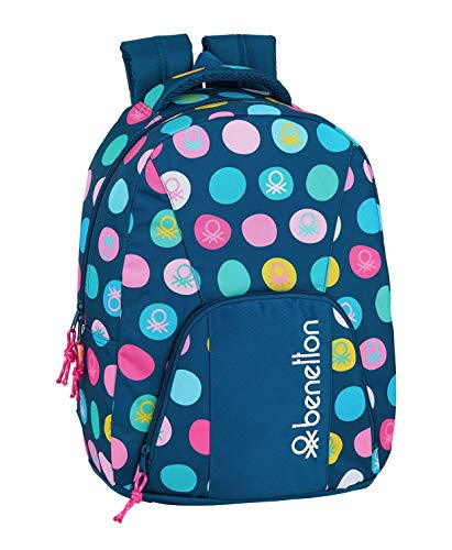 safta 612050571 Mochila Adaptable a Carro Benetton, Multicolor