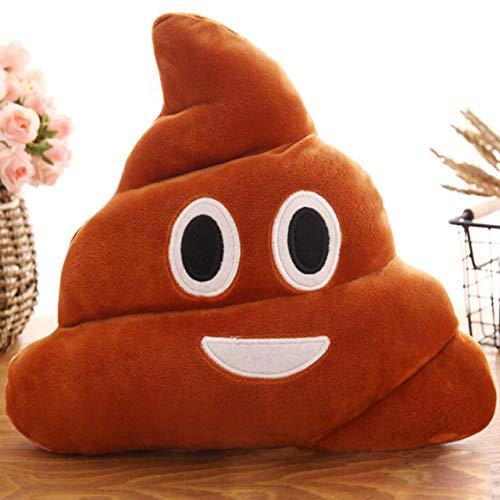 duanlidong Mini Emoji Kissen Kissen Poop Form Kissen Puppe Spielzeug Dekokissen Amüsant Emotion Poo Kissen EIN 20 cm