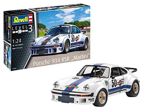 Revell-Porsche 934 RSR Martini, Escala 1:24 Kit de Modelos