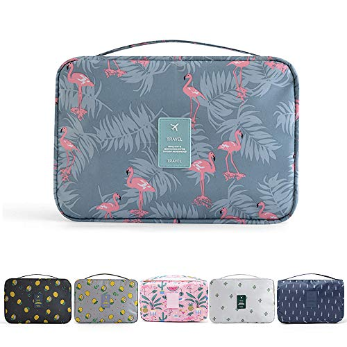 Beauty Case da Viaggio, YumSur Appeso Toiletry Organizer Travel trousse per donne e uomini...