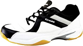 Grade Smash Memory Foam Badminton Shoes (Front Stitched Sole) | Ideal for Badminton,Squash,Table Tennis,Volleyball, Court ...
