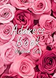 Address Book Medium Size: Address Book 5x7 Inches : Address Book Personalize : Address Book With Password Section : A-Z Alphabetical Index : Address ... Mobile, Work) Email, Social media, Notes