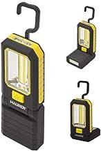 Magnetische led-zaklamp, 3 watt. 210 lumen / 20 lumen inklapbaar met haak
