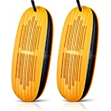 Secador de zapatos telescópico secador de pies adulto calentador de zapatos ventilador PTC calefacción bota secador desodorizador invierno zapato calentador eléctrico ambientador, amarillo, normal