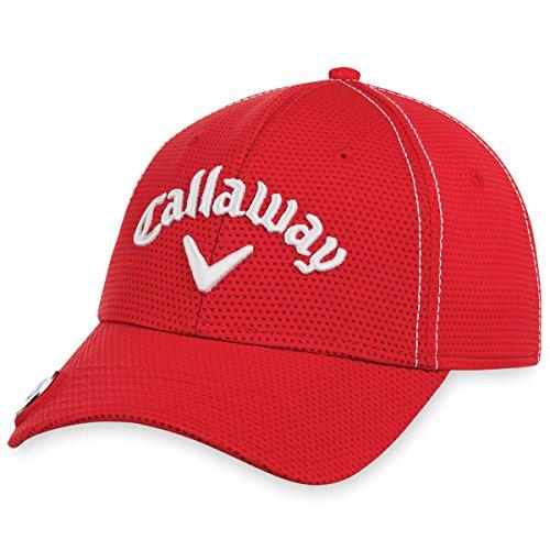 Callaway 5217042 Gorra de béisbol, Rojo, U para Hombre