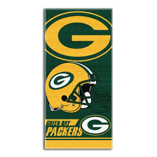 THE NORTHWEST COMPANY NFL Green Bay Packers Strandtuch, doppelseitig, 71 x 137 cm