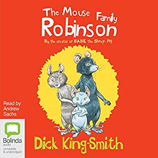 The Mouse Family Robinson audiobook cover art