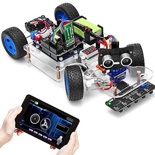 OSOYOO Sport Robot Smart Car for Arduino UNO | Servo...