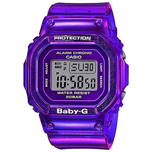 Casio Baby-G BGD560S-6 Semi-Transparent Purple Watch
