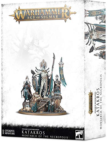 Games Workshop Warhammer AoS - Ossiarch Bonereapers Katakros Mortarch of The Necropolis
