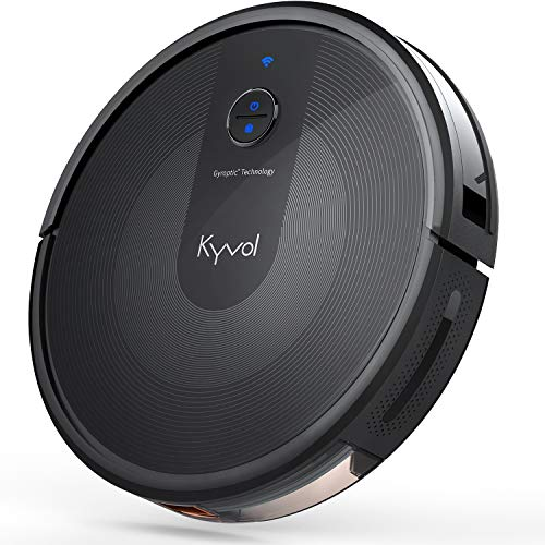 Kyvol E30 ロボット掃除機 2200Pa 強力吸引 弓形働く マッピング機能 自動充電 150分間連続稼働 静音 超薄型 掃除ロボット 衝突防止 境界線テープ 落下防止 Alexa Google Home WiFi対応