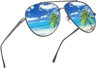 Premium Military Polarized Aviator Sunglasses Metal Frame...