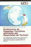 Preferencia de Paquetes Turísticos ofertados por Mayoristas de Turismo: Las mayoristas encaminan su esfuerzo a la satisfacción de las necesidades de agencias y viajeros, siendo beneficio mutuo
