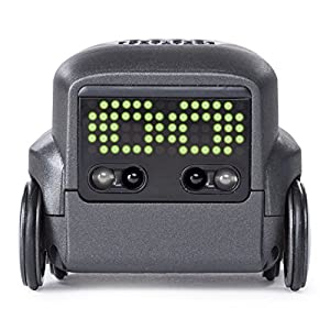 Boxer - Interactive A.I. Robot Toy (Black) with Remote Control, For Ages 6 & Up