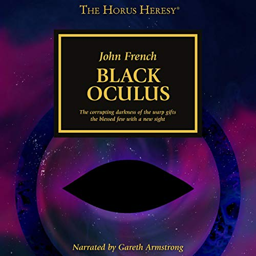 Black Oculus audiobook cover art
