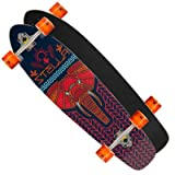 Stella Elephant 38' Kicktail Complete Longboard Skateboard