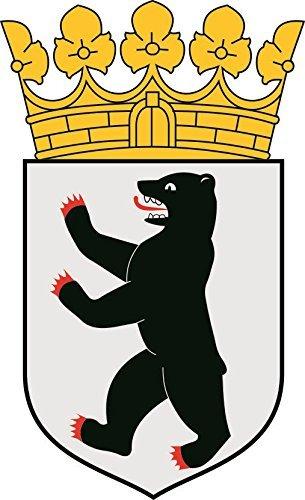 U24 Aufkleber Berlin Wappen Autoaufkleber Sticker Konturschnitt