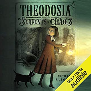 Theodosia and the Serpents of Chaos audiobook cover art