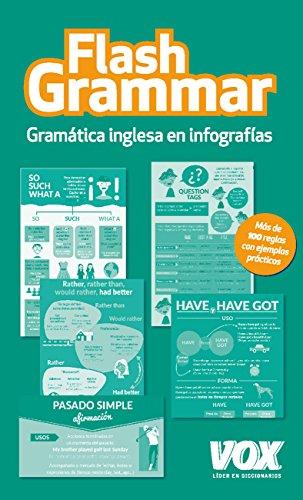 Flash Grammar: Gramática inglesa infografías VOX