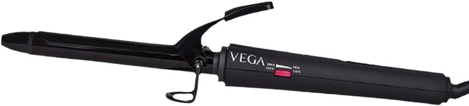VEGA Smooth Curl Hair Curler-19 mm (VHCH-03), Black