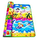 Home Stylish Double Sided Water Proof Baby Mat Carpet for Kids 3feet x5