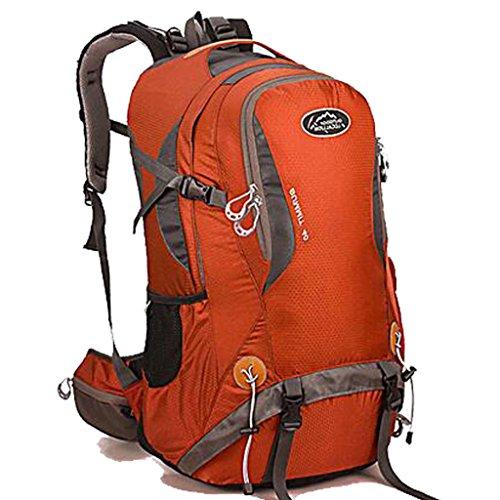 Sac d'escalade en plein air sac à dos équitation sac du sport multifonction épaule de camping sac à dos avec support de randonnée