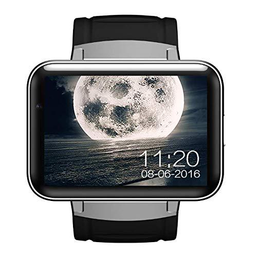 Bluetooth Dm98 Reloj Inteligente Podómetro Actividad Perseguidor Impermeable Pantalla De 2.2 Pulgadas Android Reloj Mtk6572 Doble Núcleo 512Mb Ram 4Gb Cámara Rom Reloj Gps Para Android Ios,Silver