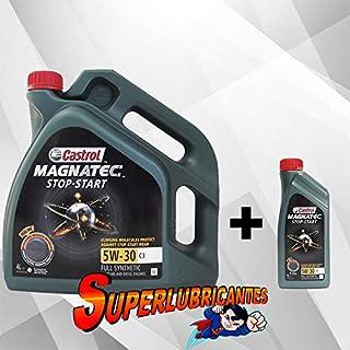 Mundocoche Castrol Magnatec 5W30 Stop-Start C3 1+4L (5Litros