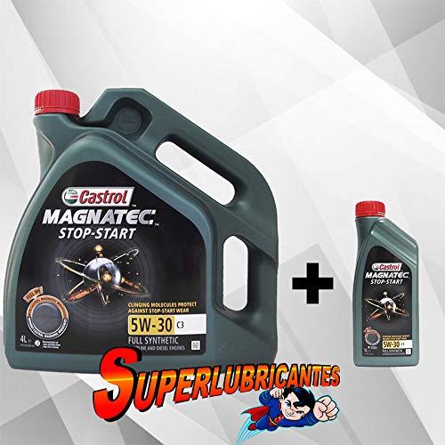 Mundocoche Castrol Magnatec 5W30 Stop-Start C3 1+4L (5Litros)