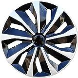 EET 4X14 Zoll Radkappen Set, Universal Fit Für Die Meisten Fahrzeuge Modifiziert Aussehen Autoteile Felgenabdeckungen Wheel Trims