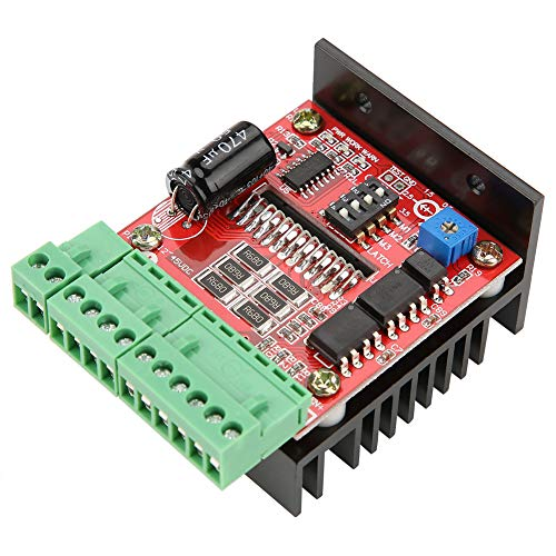 Motor Driver Board, TB6600 4A 2 Phase Stepper Motor Driver Board 6 Microstep for CNC Engraving Machine